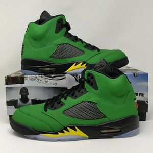 Nike Air Jordan Retro V 5 Oregon Ducks